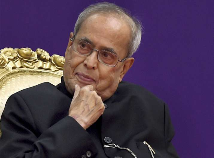 President Pranab Mukherjee will step down for Ram Nath