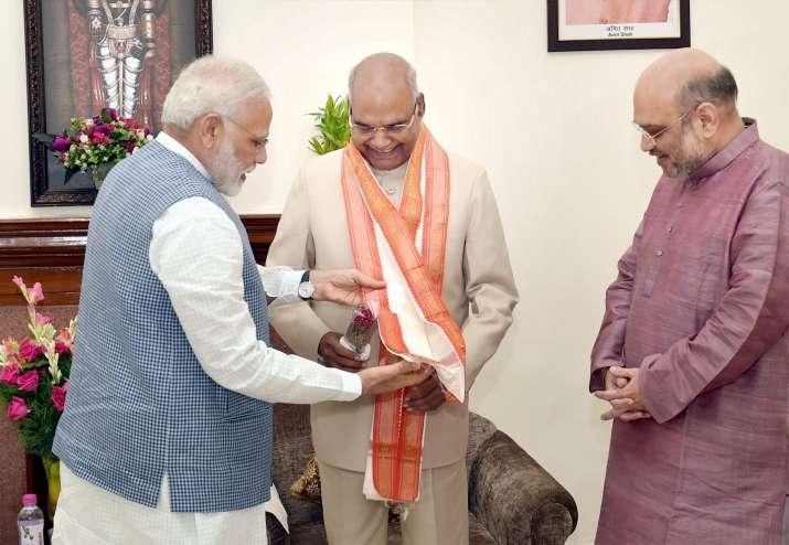 Ram Nath Kovind first BJP leader to be President