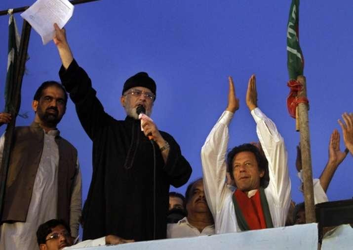 Pak court orders seizure of Imran Khan, Tahirul Qadri's