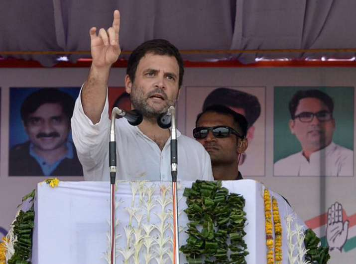 GST rolled out in a hurry to impress the world, Rahul