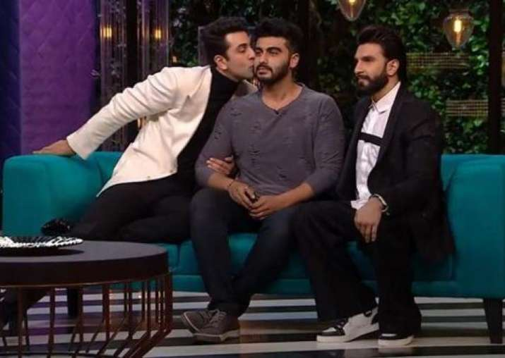 India Tv - Ranveer, Arjun and Ranveer