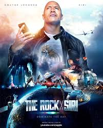 India Tv - Dwayne poster in new film with Siri