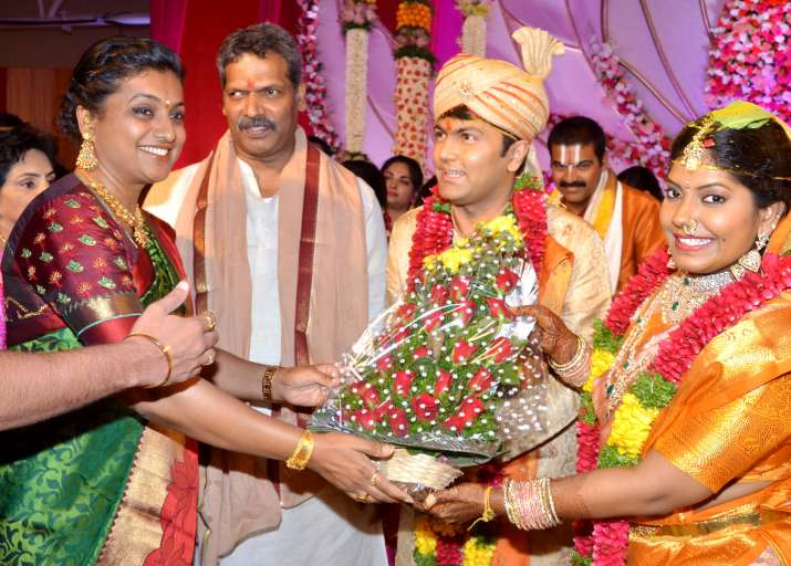 India Tv - Shyam Prasad Reddy daughter marriage