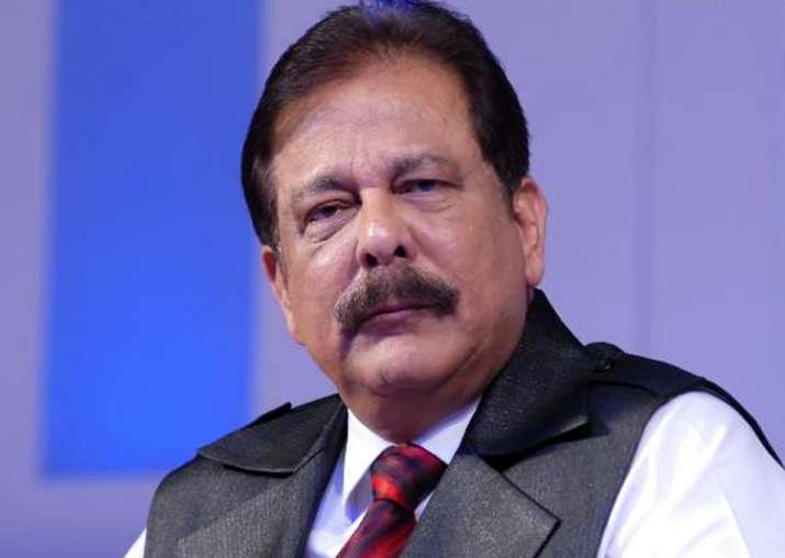 File pic of Sahara chief Subrata Roy