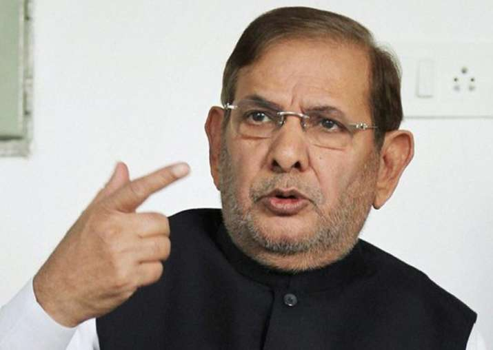 JDU today targeted Sharad Yadav for his opposition to BJP