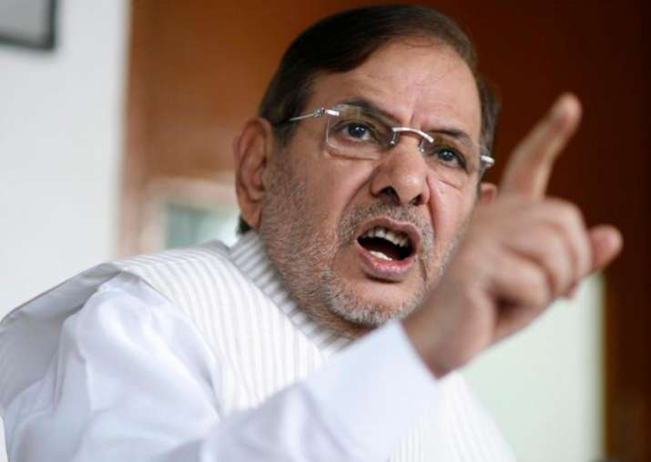 Sharad Yadav may break away from JD(U) to form new party,