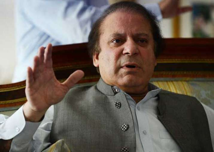 File pic of Pak PM Nawaz Sharif