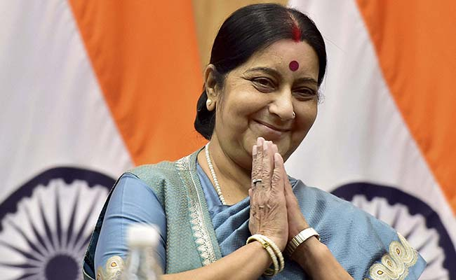 Man arrested for using forged letters of Sushma Swaraj for