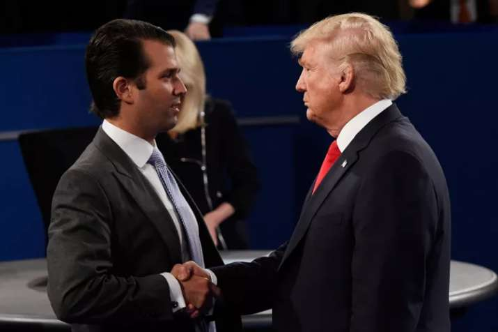 Donald Trump defends son for 'transparency' over Russia
