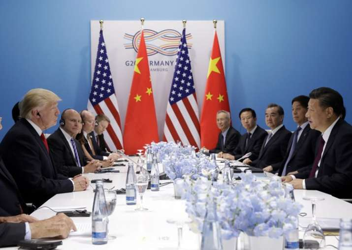 Donald Trump meets Chinese President Xi Jinping at G20