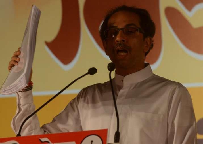 File pic of Uddhav Thackeray