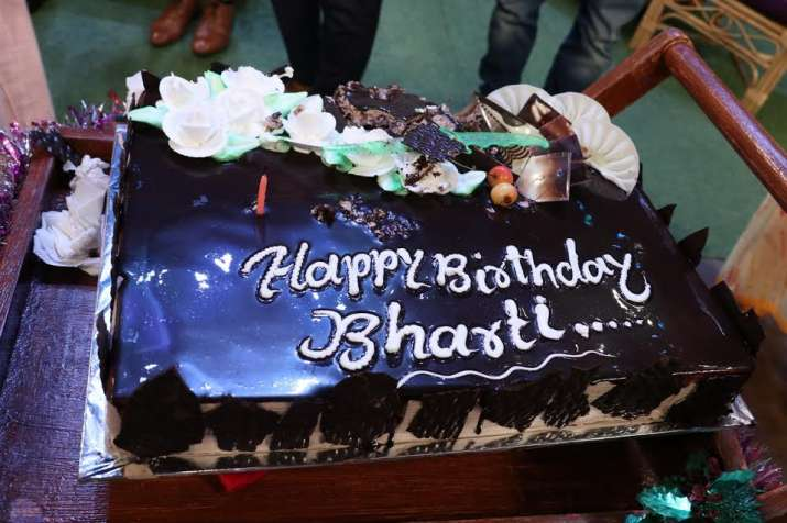 India Tv - Bharti Singh birthday cake