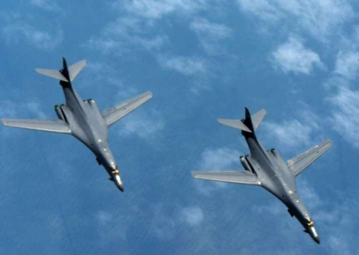 Beijing cautions US after two if its bombers fly over South