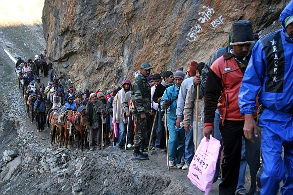 File photo - Amarnath Yatra pilgrims