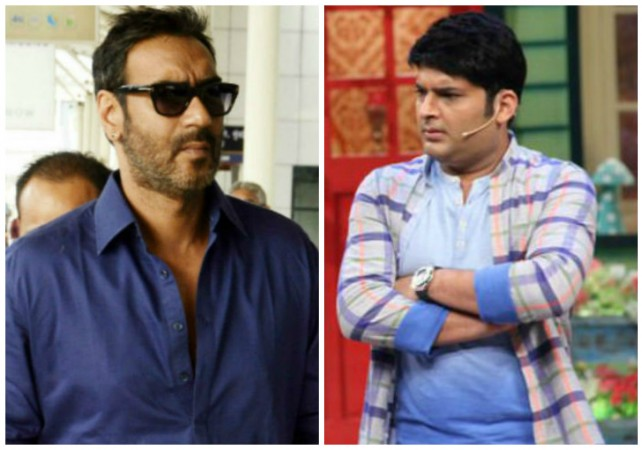 Ajay Devgn rubbishes rumours of walking out of The Kapil