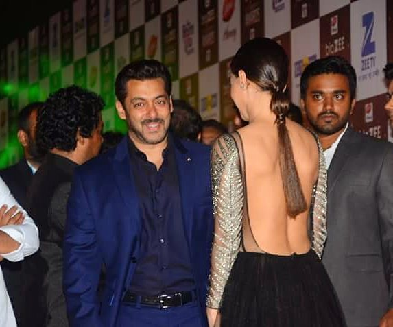 India Tv - Salman Khan and Sana Khan