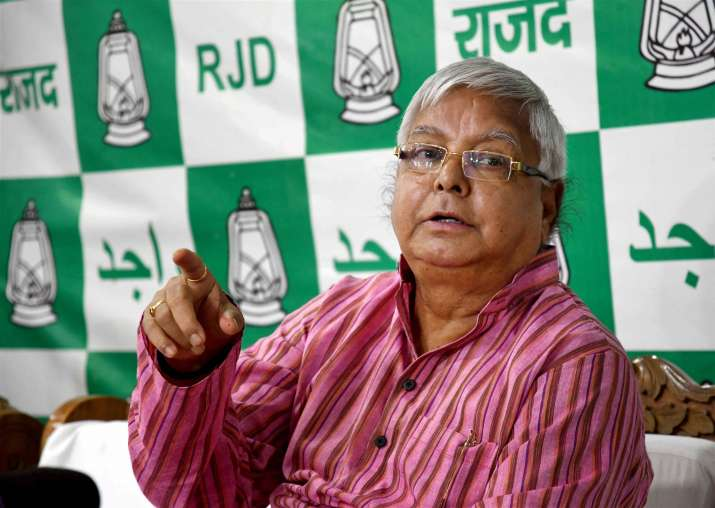 Nitish Kumar is the 'Palturam' of politics, said Lalu Yadav