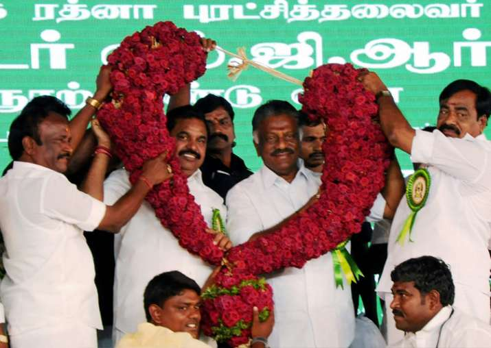 TN CM Palaniswami and Dy CM Panneerselvam