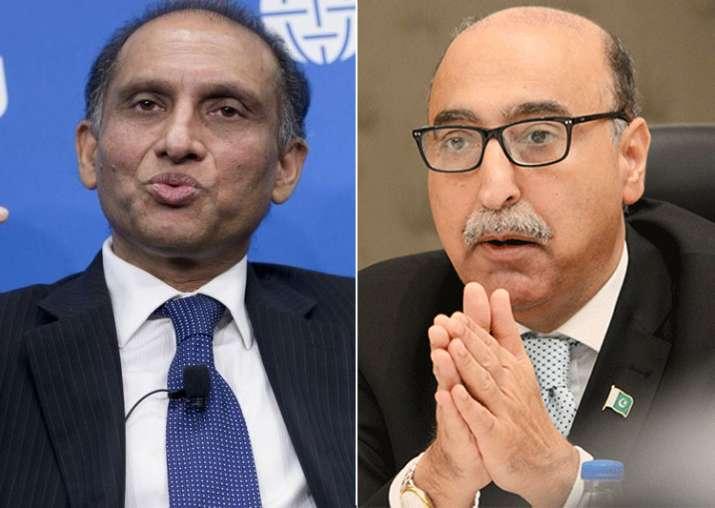 Aizaz Ahmad Chaudhry and Abdul Basit
