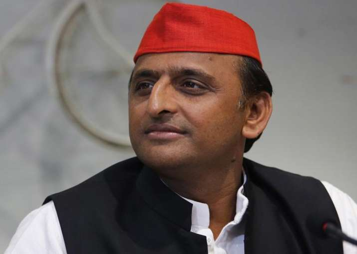 File pic of Samajwadi Party national president Akhilesh