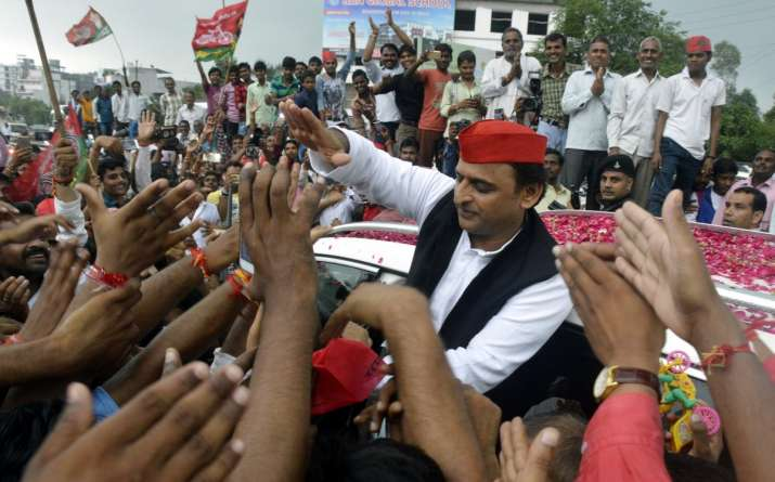 India Tv - SP chief Akhilesh Yadav on the launch of Desh Bachao Desh Banao campaign