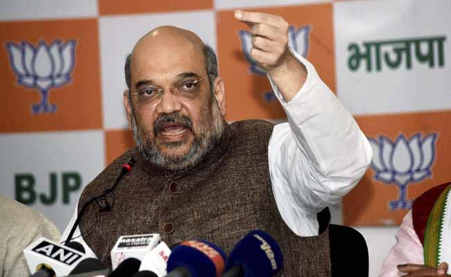 Amit Shah pulls up BJP MPs over absence in Rajya Sabha