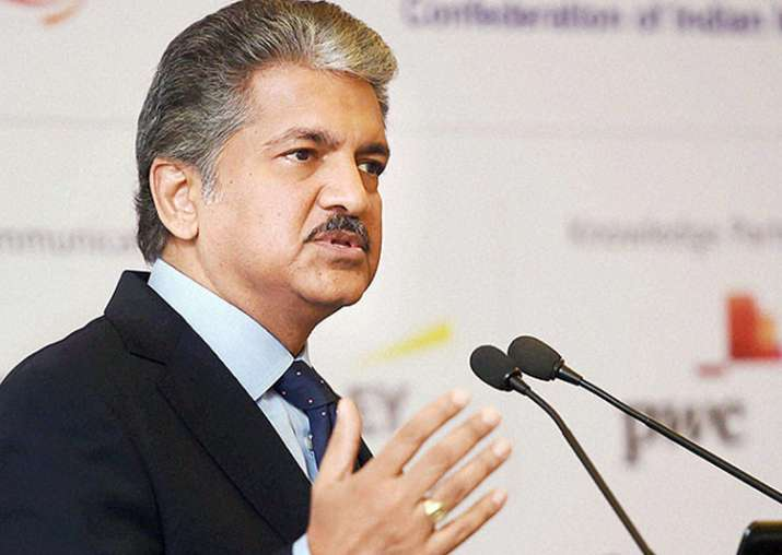 File pic of Anand Mahindra