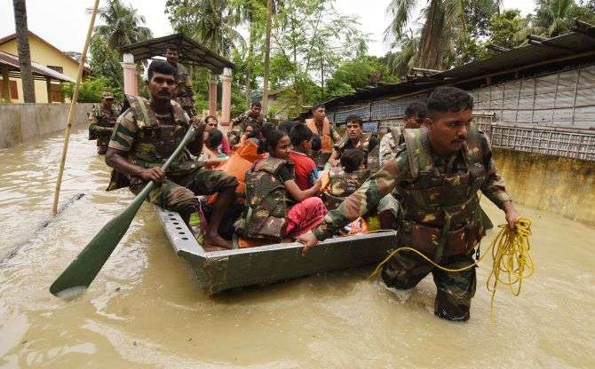 India Tv - Assam Floods