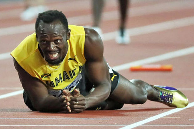 Usain Bolt bows out with injury in last race