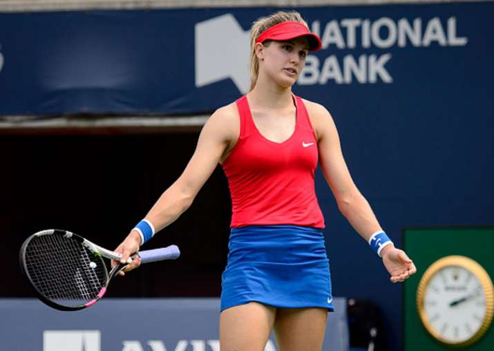 Eugenie Bouchard Loses In First Round Of Rogers Cup Tennis News