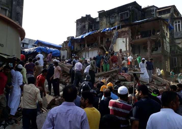 Bhendi Bazaar building collapse