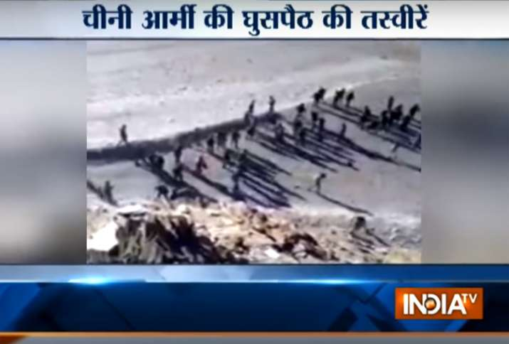 Video shows scuffle between Indian, Chinese troops in