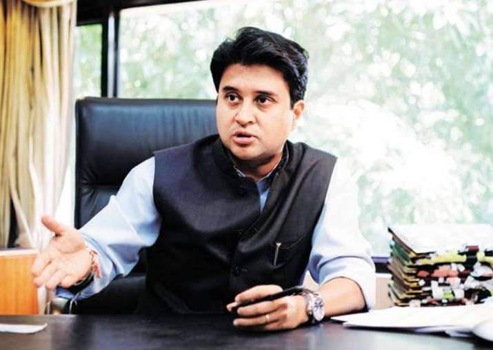 Senior Congress leader Jyotiraditya Scindia