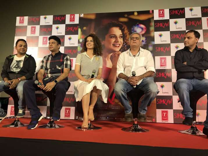 India Tv - Simran trailer launch