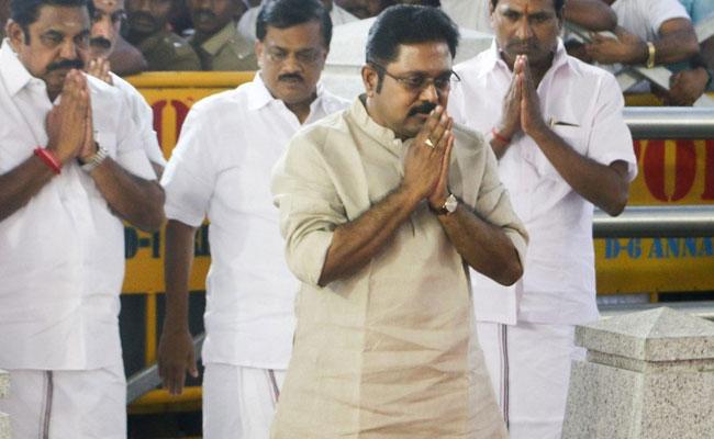 Dhinakaran continues reshuffling AIADMK ranks