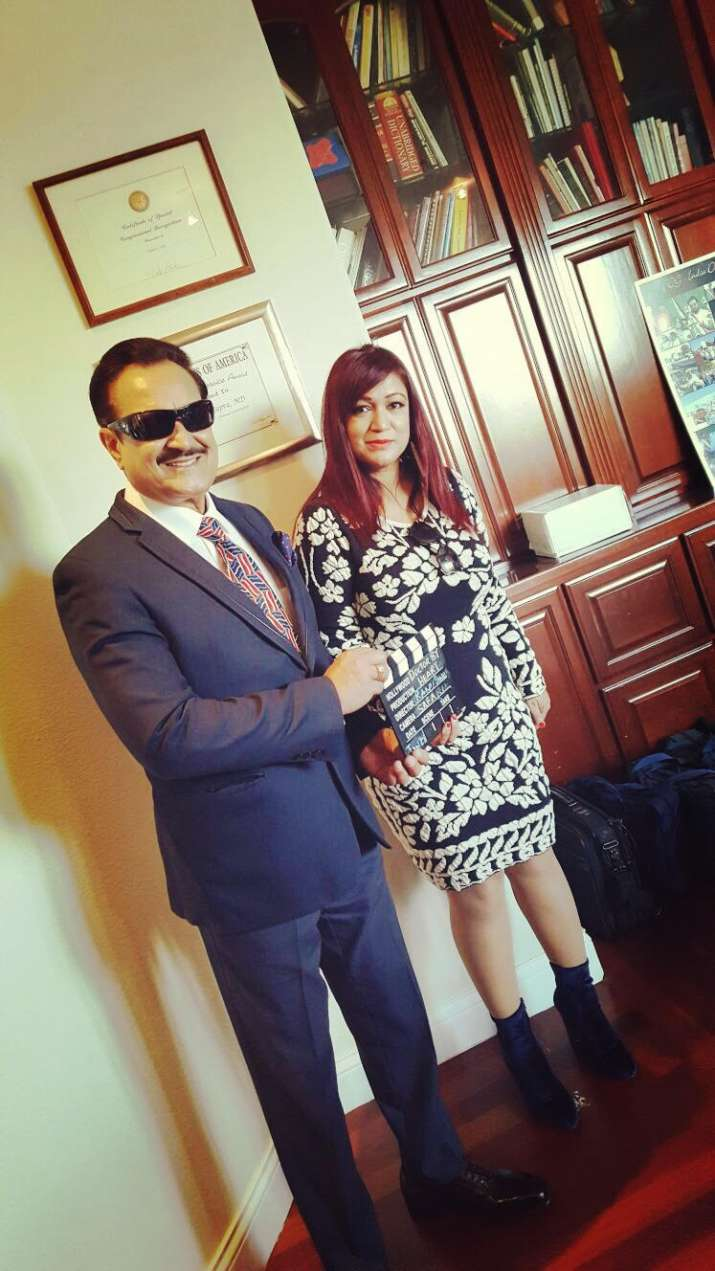 India Tv - Dr Romesh Japra with Dr Ranu Sinha