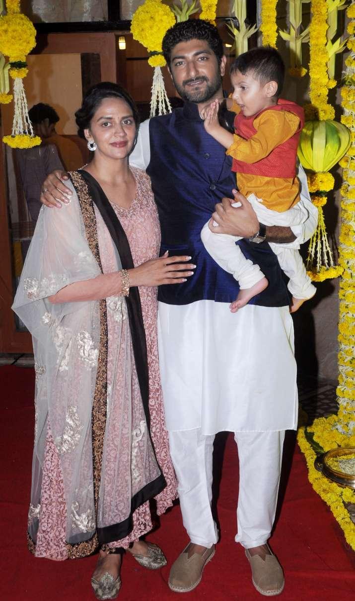 India Tv - Esha Deol baby shower