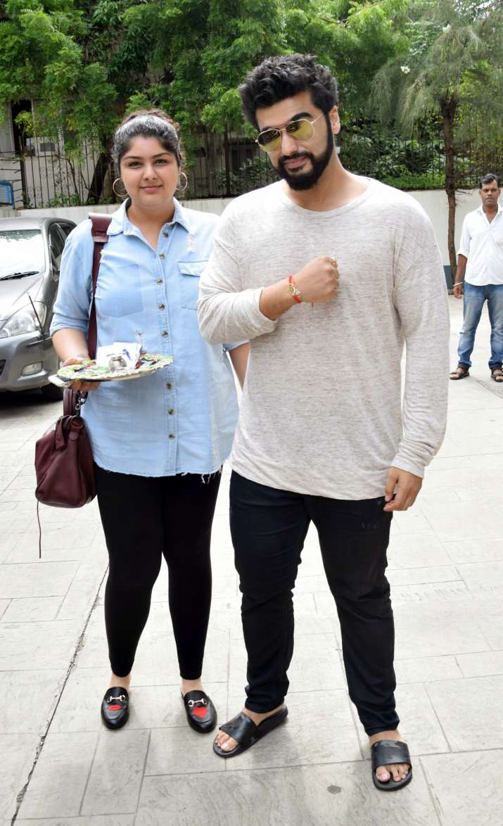 India Tv - Arjun Kapoor, Anshula Kapoor