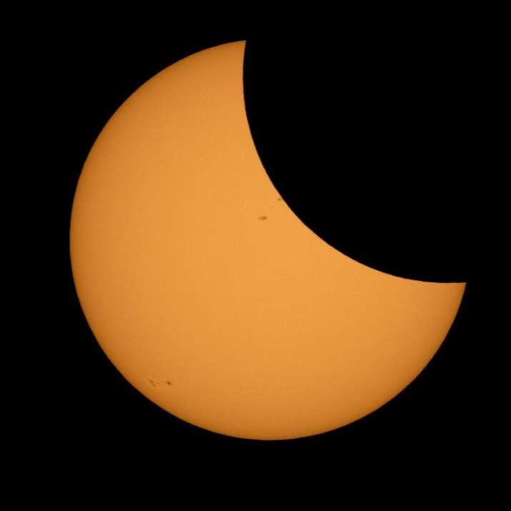 India Tv - Total Solar Eclipse