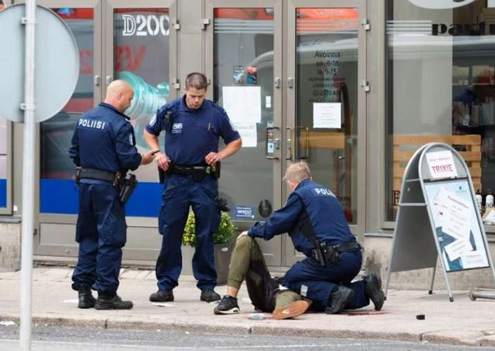 Finland stabbings a terror attack, says police