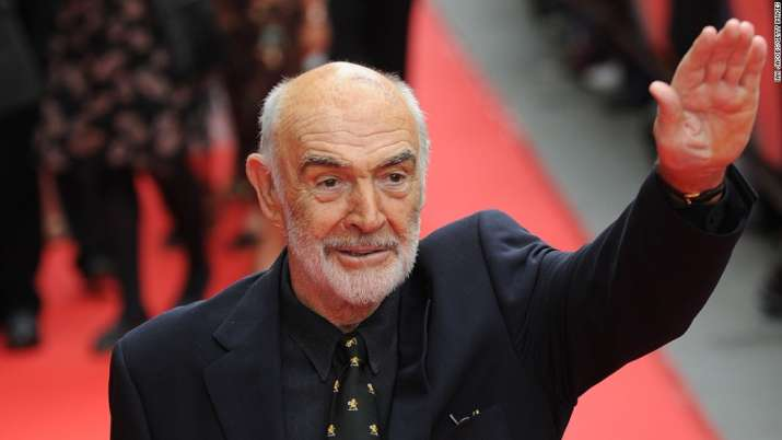 Sir Sean Connery US open