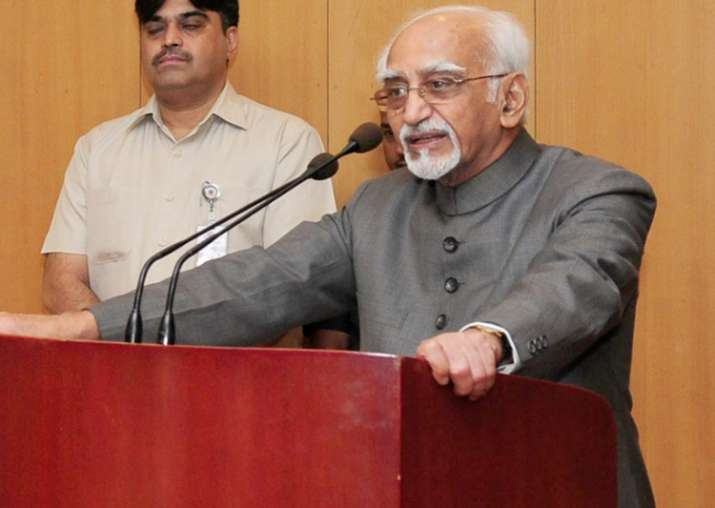 File pic of Hamid Ansari