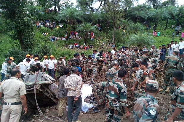 Himachal landslide: Death toll reaches 46, rescue work to