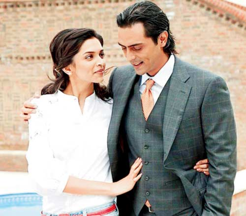 India Tv - Arjun Rampal and Deepika Padukone