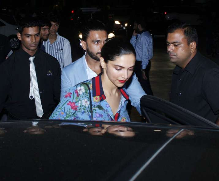 India Tv - Deepika Ranveer