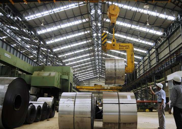Industrial output enters negative zone, contracts 0.1 pc in
