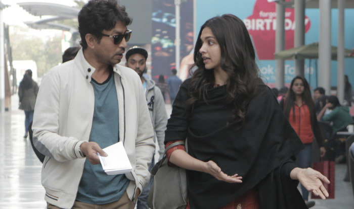 India Tv - Piku star Deepika Padukone and Irrfan Khan