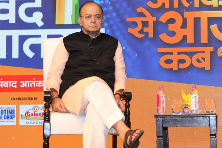 Arun Jaitley at Vande Mataram India TV