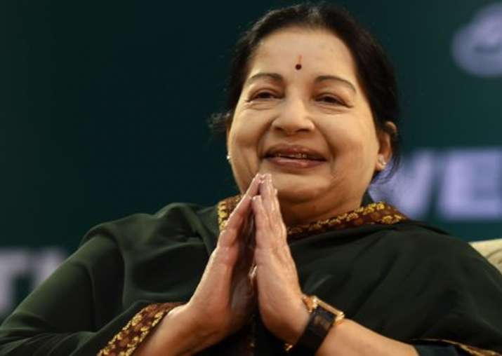 File pic of J Jayalalithaa