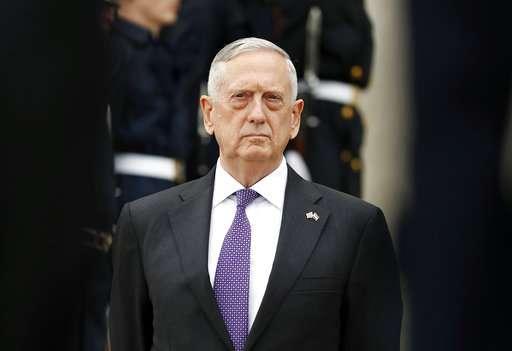 US Defense Secretary James Mattis